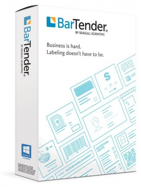 Bartender Automation Application License + 5 Printers BTA-5